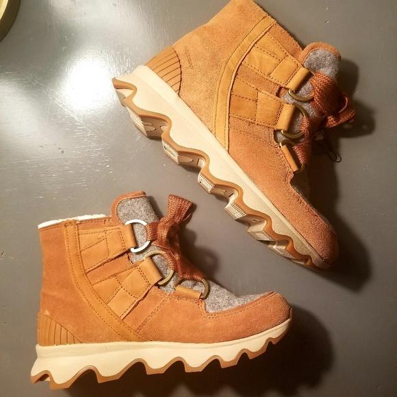 7d373b303a Sorel Shoes | Kinetic Short Lace Winter Boots | Poshmark